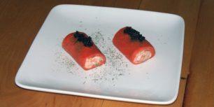 Roulade de saumon fumé